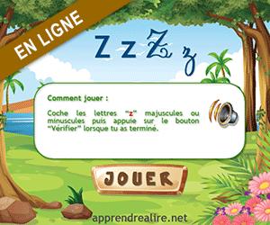 Son z apprendre lire - Z en majuscule ...