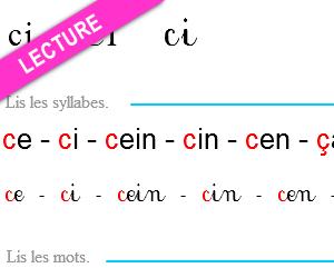 Mot avec C