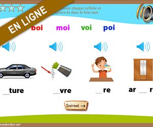 Son oi apprendre lire - Couper les mots en syllabes ...